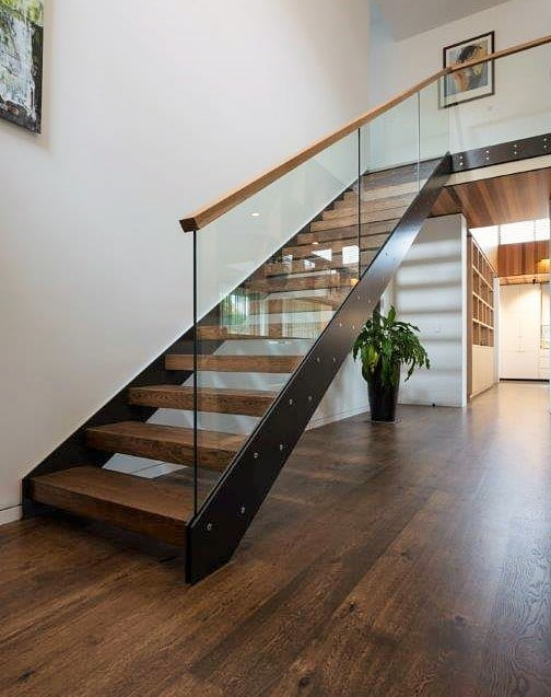 GLASS BALUSTRADES FOR INTERIOR STAIRWAYS NZ