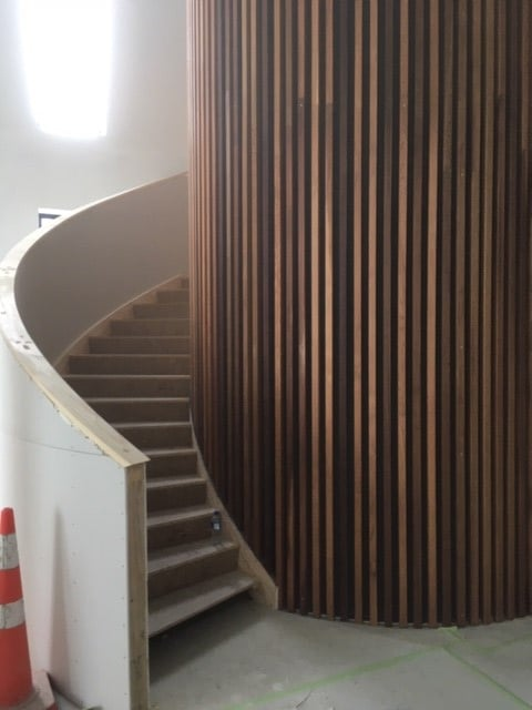 CASE STUDY: CONCEPT TO COMPLETION – ENTIRE STAIRWELL DONE BY ONE COMPANY