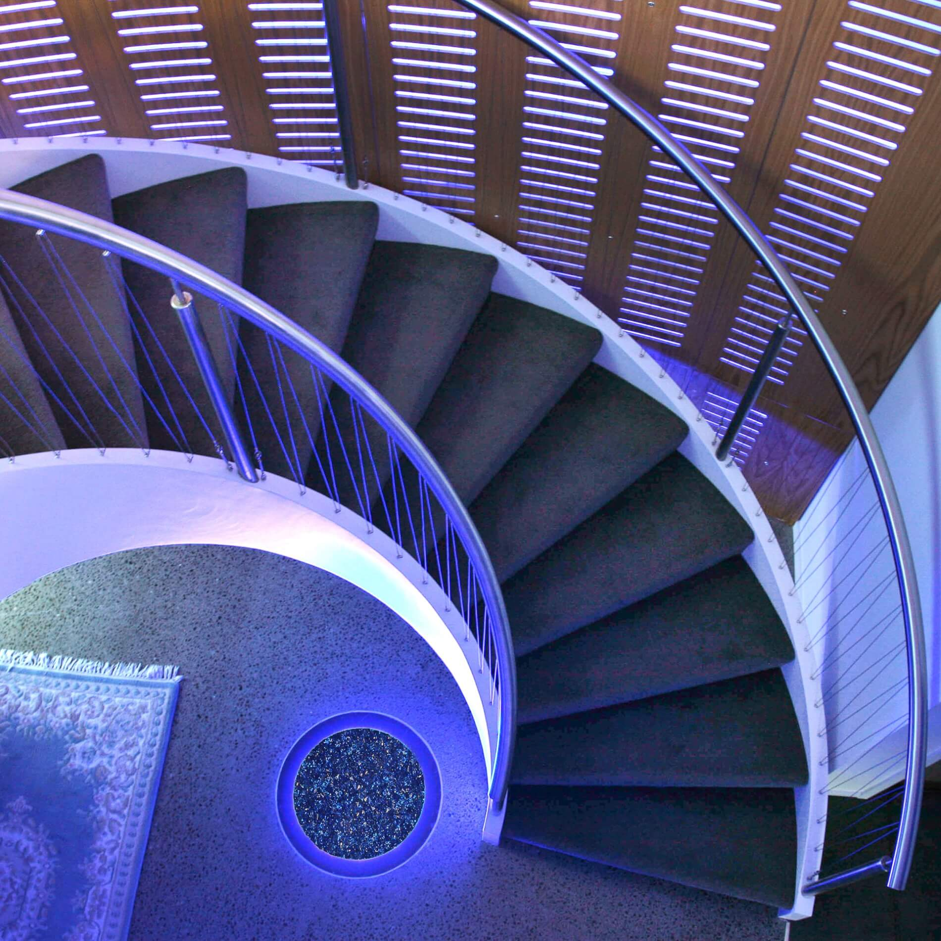 Curved Stair 6